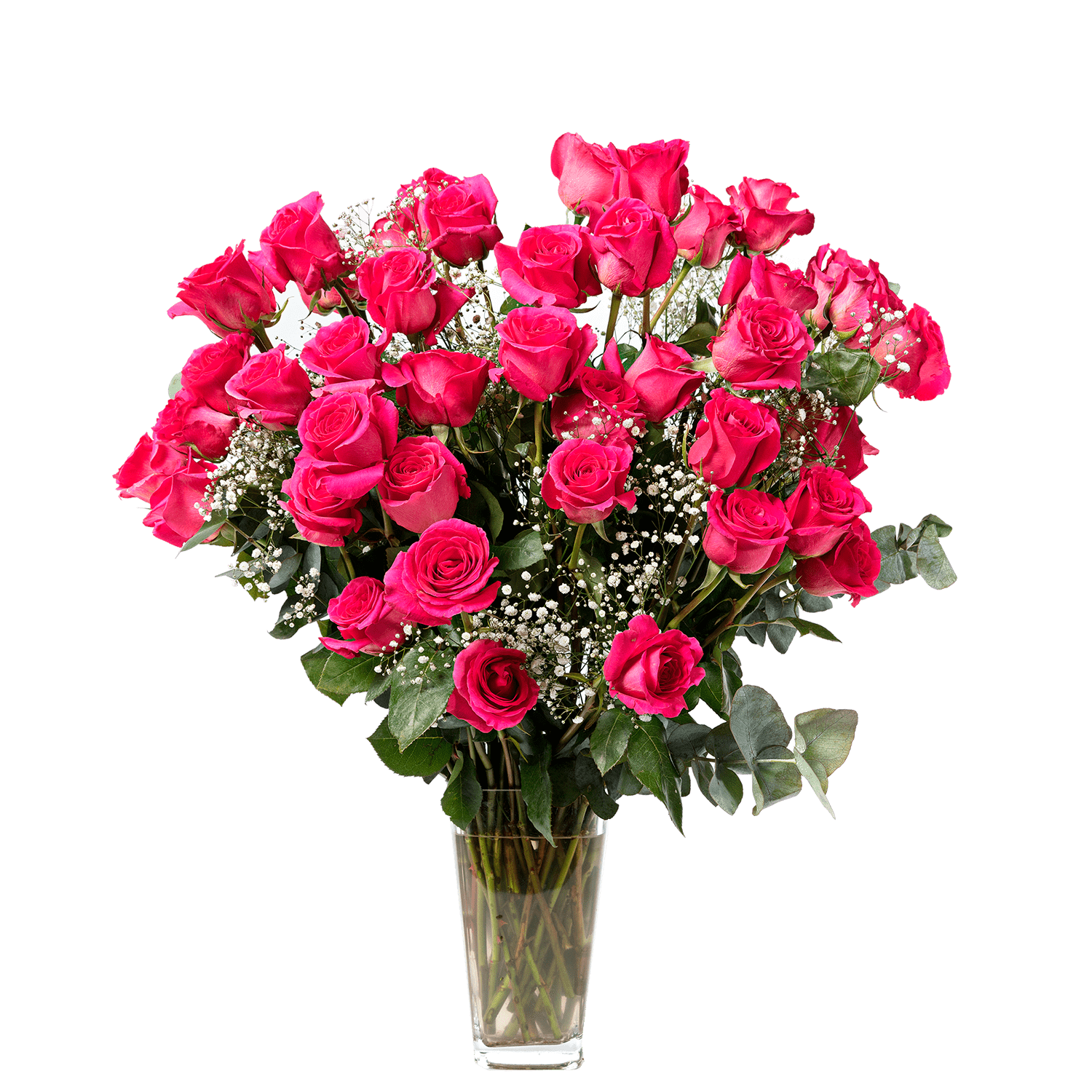 We all know that person who loves all pink everything – treat them to our stunning hot pink bouquet and you'll give them the biggest smile.